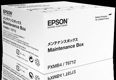 Epson WorkForce 8000 series maintenance box