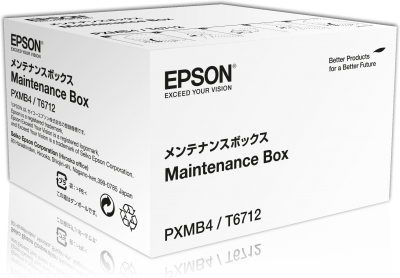 Epson WorkForce Pro WF-C869 series maintenance box