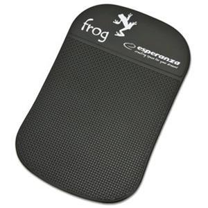 Esperanza EF101K FROG protišmyková podložka pre mobilné telefóny, čierna