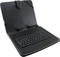 Esperanza EK124 MADERA klávesnica+puzdro pre tablet 9.7'', USB, eko koža, čierne