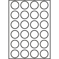 Etikety Rayfilm 40mm kruh univerzálne biele *R01004040KA