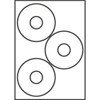 Etikety Rayfilm CD09 113/37 univerzálne biele *R0100CD09A