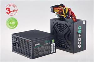 Eurocase 350W, ECO+80 ATX-350WA-12-80, APFC, CE, CB, ErP2013, efficiency 80+