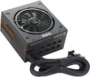 EVGA BQ 650W, 80 PLUS Bronze, čiastočne modulárny