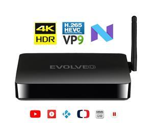EVOLVEO MultiMedia Box M4, Quad Core multimediálne centrum