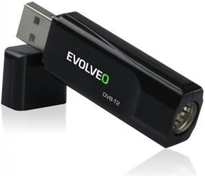 Evolveo SGA-T2-HEVC, USB TV tuner - rozbalené