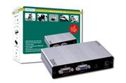 Extender DIGITUS VGA Video and Splitter over Cat51 local, 4remote up t