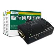Extender DIGITUS Video Booster up to 65M 250 MHZ,HDSUB 15/M to HDSUB 1