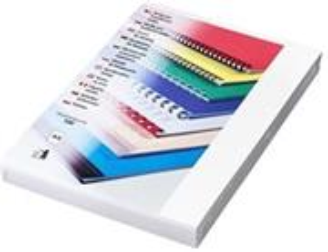 Fellowes kartónové dosky Chromo A4, biele