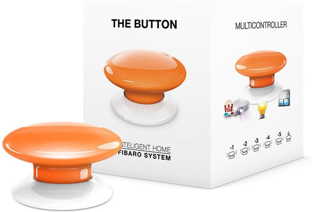 Fibaro Button (FGPB-101-8), Z-Wave, Oranžové