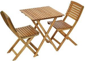 Fieldmann FDZN 4010-T, sada stôl + stoličky