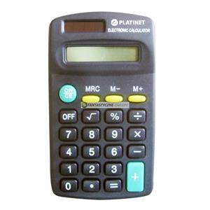 Fiesta Economy kalkulačka vrecková, čierna