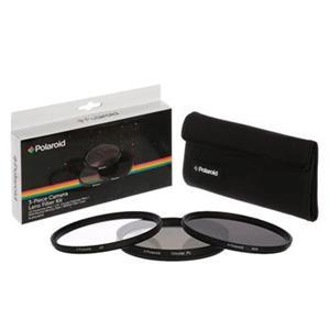 Filter Polaroid 49mm (UV MC, CPL, ND9) set 3ks