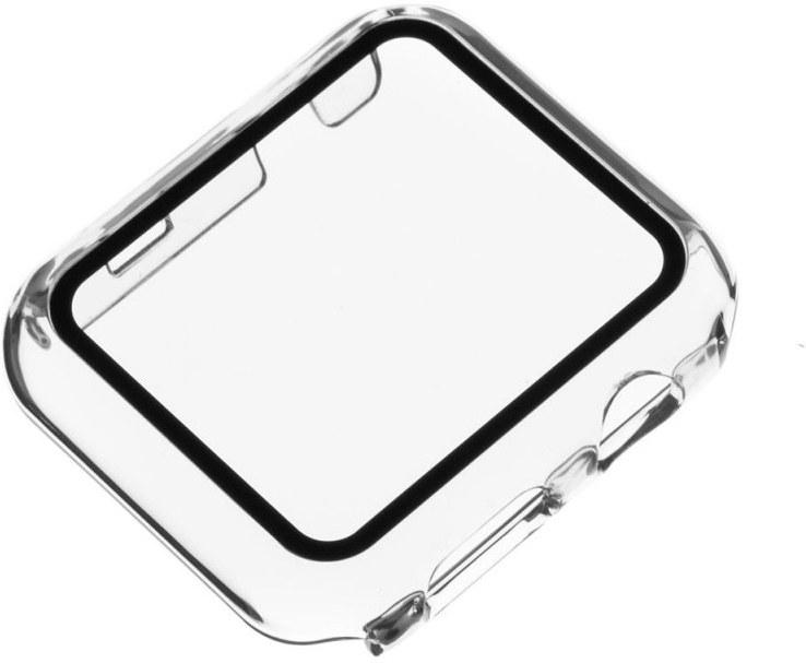 Fixed Pure, ochranné puzdro pre Apple Watch, 44 mm, transparentné