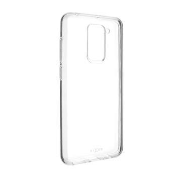 Fixed Skin ultra tenké TPU gélové puzdro pre Xiaomi Redmi Note 9, 0,6 mm, číre