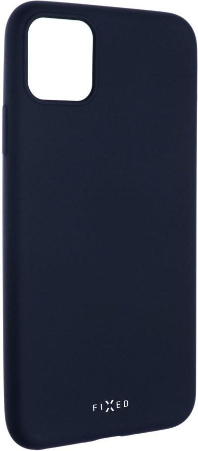 FIXED Story pre Apple iPhone 11 Pro Max, modrý, zadní pogumovaný kryt