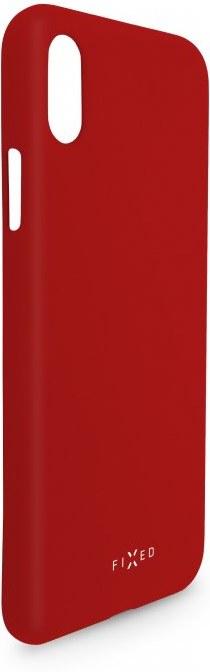 FIXED Story zadný silikónový kryt pre Huawei P30, červený
