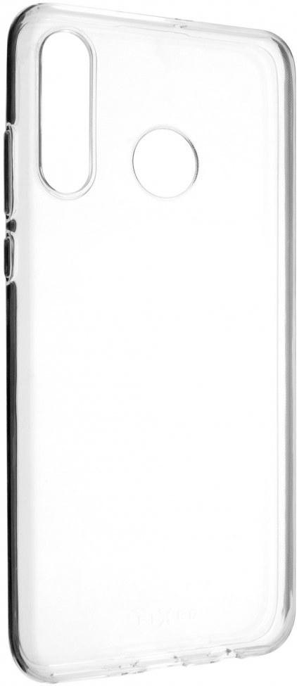 FIXED TPU gélové puzdro pre Huawei P30 Lite, transparentné