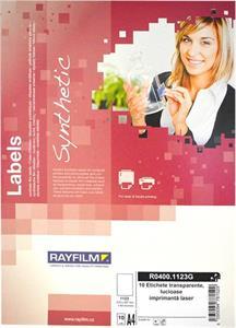fólia A4 RAYFILM transparentná samolepiaca laser 10ks