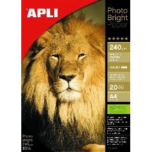 Fotopapier AGIPA APLI lesklý PRO 280g A4