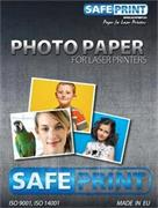 Fotopapier SafePrint laser matný, 140g, A4, 10 listů