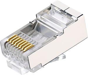 FTP sieťová koncovka, Cat5, RJ45, tienená, drôt