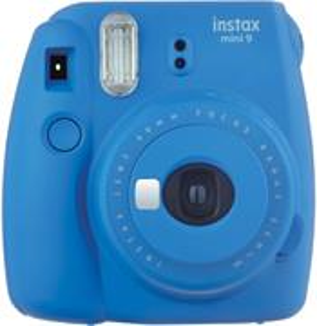 Fujifilm INSTAX MINI 9 - Cobalt Blue - unikatny fotoaparat s tlacou fotografii