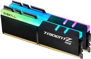 G.Skill Trident Z RGB DDR4, 3600 MHz, 16 GB (2x 8 GB), CL19, 1.35 V, XMP 2.0