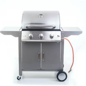 G21 Oklahoma BBQ Premium Line, plynový gril, 3 horáky + redukčný ventil zadarmo