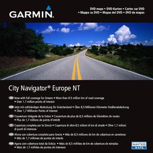 GARMIN City Navigator Europe 2008 NT SD