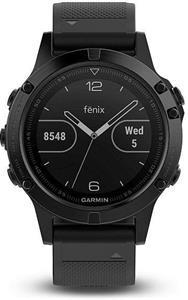 Garmin Fenix 5 Sapphire, športové hodinky, čierne