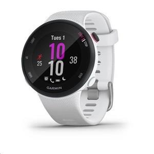 Garmin Forerunner 45S GPS inteligentné hodinky, biele