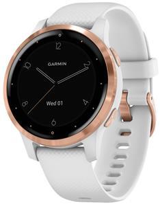 Garmin vívoactive 4S, inteligentné hodinky, biele