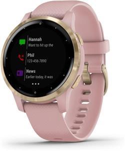 Garmin vívoactive 4S, inteligentné hodinky, ružové