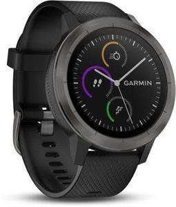 Garmin vivoActive3 Optic, smartwatch, sivé