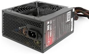 Gembird BlackBoxPower zdroj 600W ATX/BTX, CE, PFC 80+Bronze