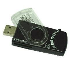 Gembird čítačka pamäťových kariet flash a SIM kariet, USB 2.0