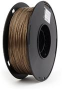 Gembird filament PLA-plus, 1,75 mm, zlatý metalický