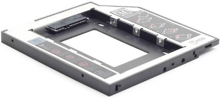 Gembird montážny rámček pre SATA HDD miesto DVD mechaniky 12mm