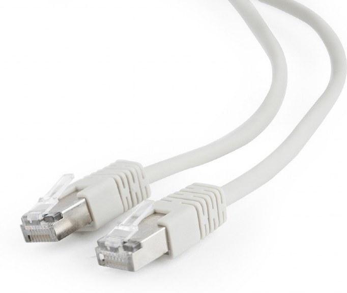 Gembird patch kábel RJ45, cat. 5e, FTP, 10,0m, sivý