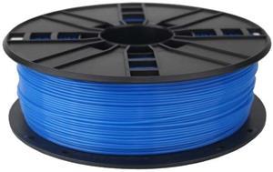 Gembird PLA modrá (Fluorescent Blue) | 1,75mm | 1kg