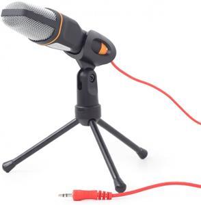 Gembird stolný mikrofón MIC-D-03,s tripodem, čierny