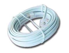 Gembird telefónny kábel 6P4C 5 metrov