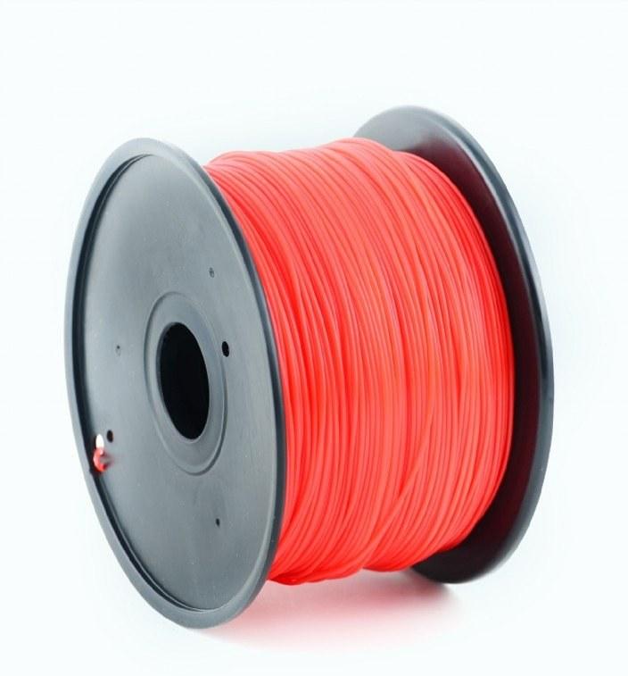 Gembird tlačová struna (filament), ABS, 1,75mm, červená