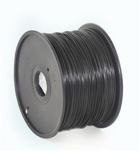 Gembird tlačová struna (filament), ABS, 1,75mm, čierna