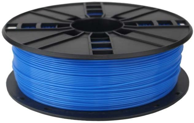 Gembird tlačová struna (filament), ABS, 1,75mm, fluorescent modrá