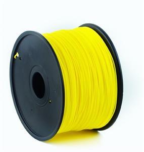 Gembird tlačová struna (filament), ABS, 1,75mm, Fluorescent žltá
