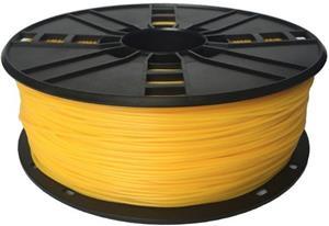 Gembird tlačová struna (filament), flexibilná TPE, 1,75mm, žltá