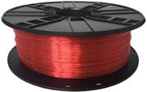 Gembird tlačová struna (filament), PETG, 1,75mm, červená