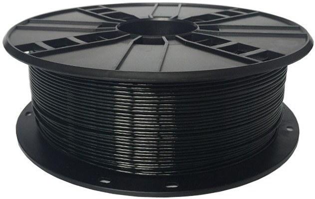 Gembird tlačová struna (filament), PETG, 1,75mm, čierna